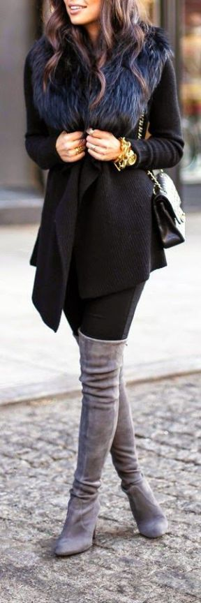 November Must Haves - Thigh High Boots