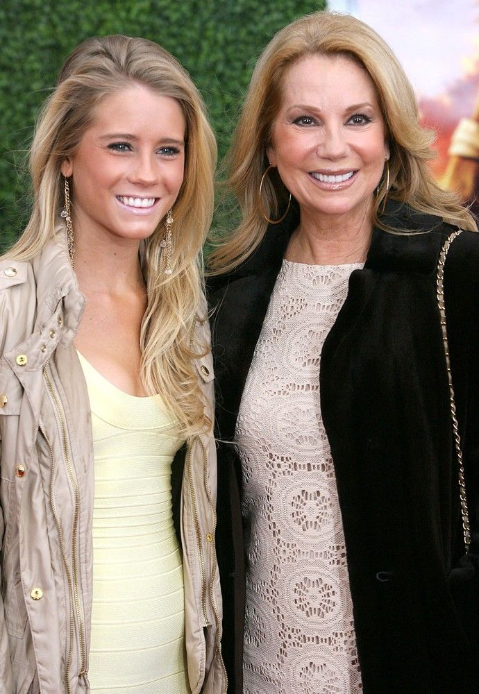 Cassidy Gifford with her mom Kathie Lee Gifford