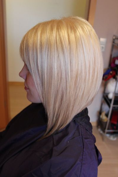 Blonde On A Line Bob HAIR Pinterest Bobs Longer Bob