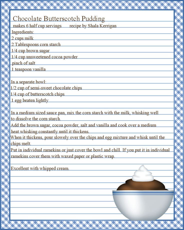 Creating A Cookbook Template. how to create a cookbook template ...