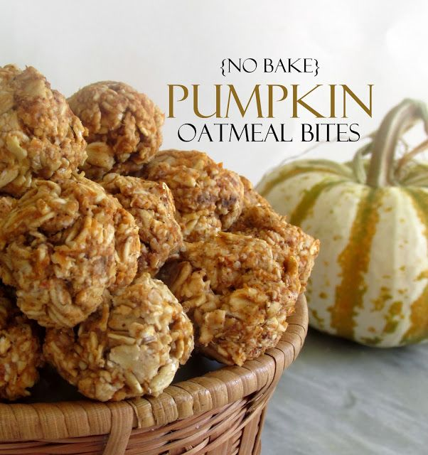 Oatgasm: No Bake Pumpkin Oatmeal Bites Need to find a substitute for maple syrup