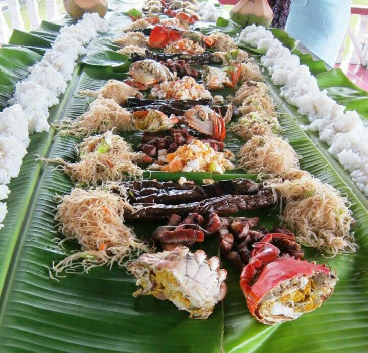Our family's own version boodle fight Awesome Food ideas