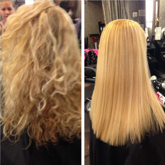 Before And After Keratin Concept Come To Next Salon 310