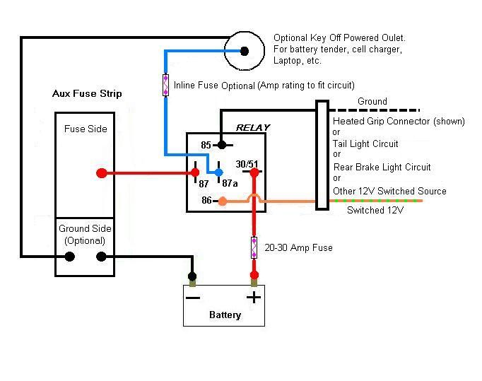 14 Pin Relay Wiring Diagram