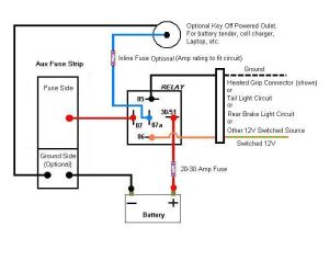 14 Pin Relay Wiring Diagram | Topic: Aux Fuse Box Wiring