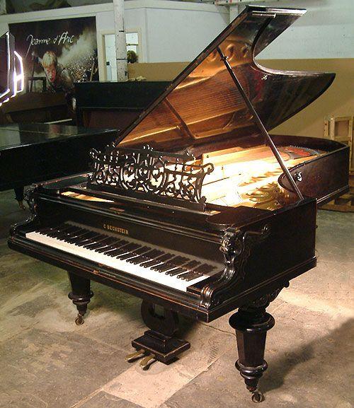 Bechstein Model E Grand Piano Traditional Upright Piano