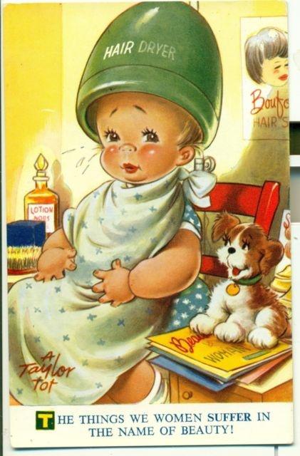 Bamforth Taylor Tot Little Folks Illustrations