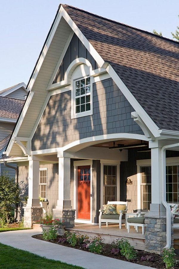 Exterior Paint Color Ideas. Sherwin Williams SW 7061 Night