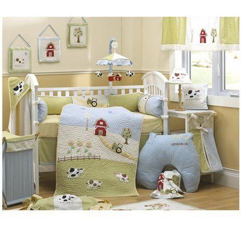 My Little Farm Crib Bedding Baby Bump Pinterest Crib
