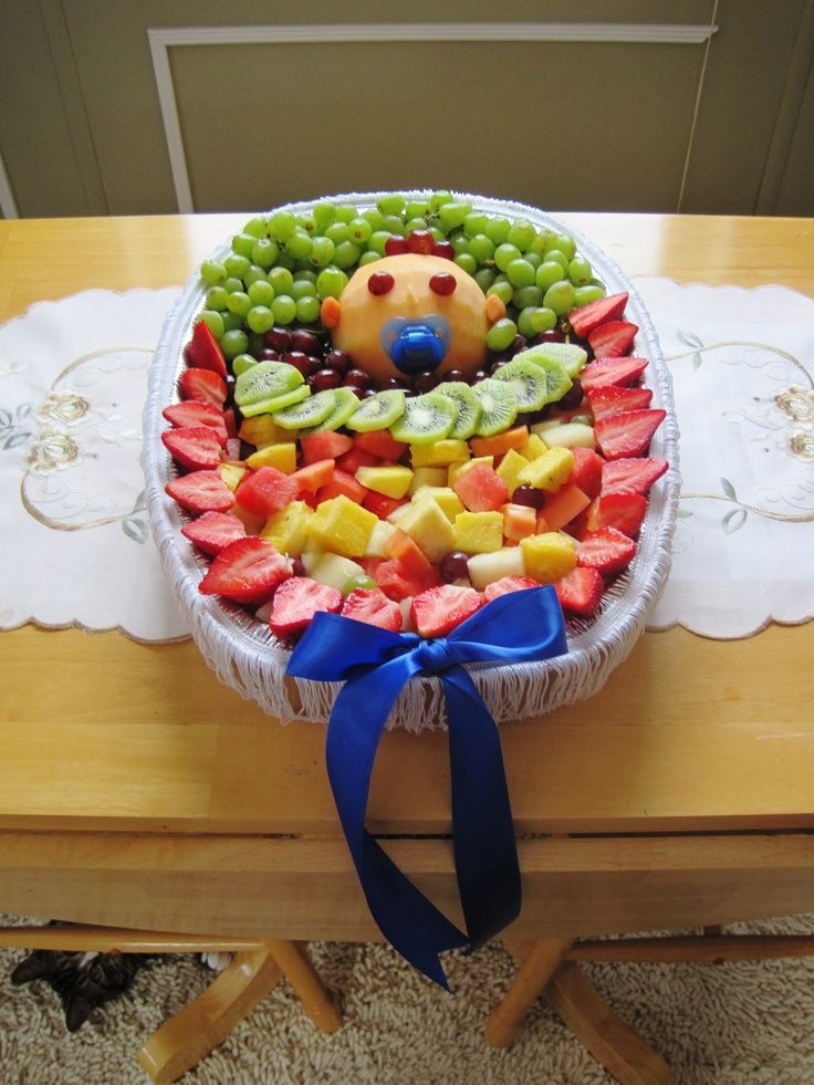 fruit trays for baby shower