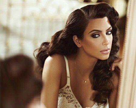 50 best kim kardashian hairstyles kim kardashian wedding and kim kardashian hairstyles