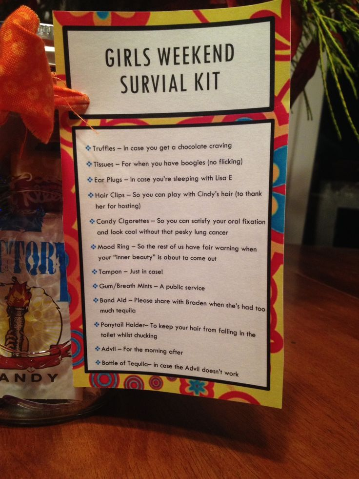 Best 20 Girls Weekend Gifts Ideas On Pinterest
