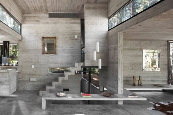 The Beauty Of Concrete From Interior Design To