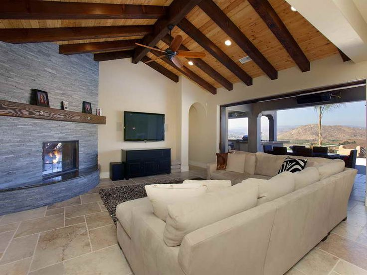 Living Room Design Ideas With Cathedral Ceillings