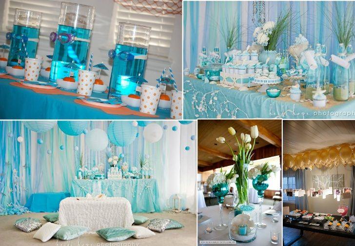 Ocean Themed Bridal Shower