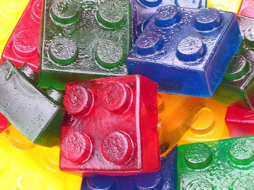 Wash big legos and then put the jello in them and you have lego jello. Thats awe