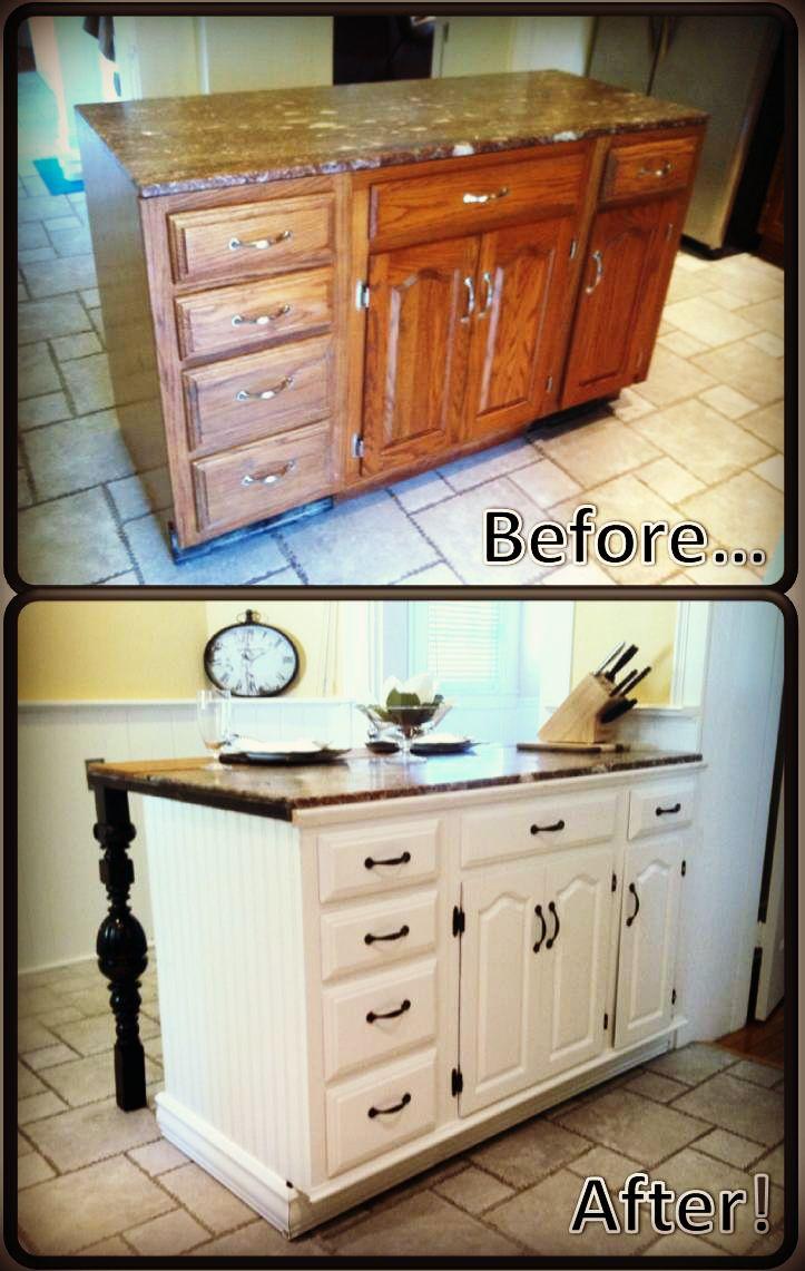 DIY Kitchen Island Renovation Vanities, and