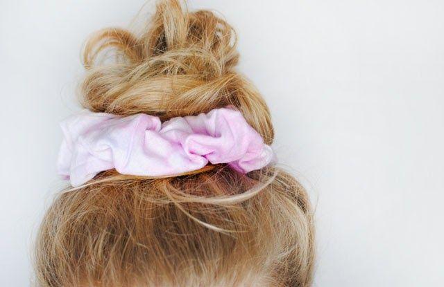 This Fashion Is Mine DIY 90s Scrunchie Amp Hair Tie