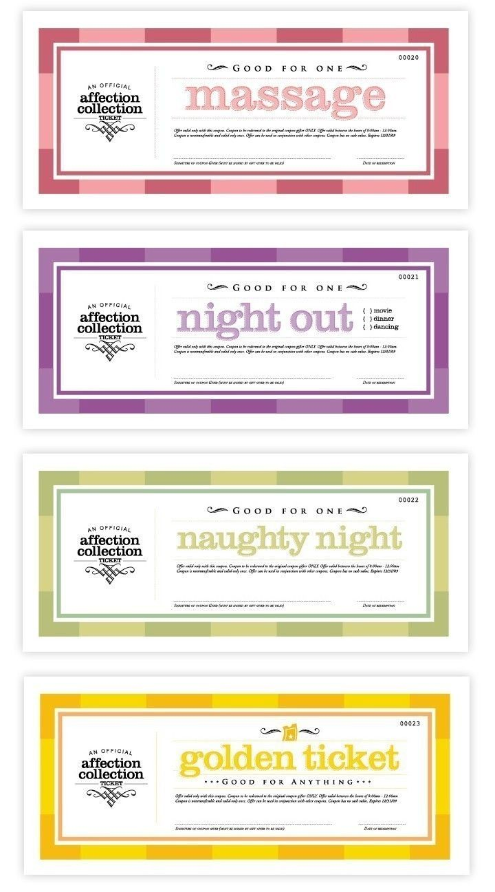 Printable Love Coupons Love Coupons Coupon And Golden