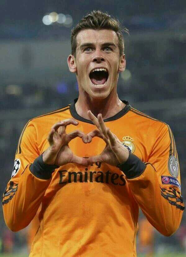 The Eleven Of Hearts Gareth Bales Celebration Real