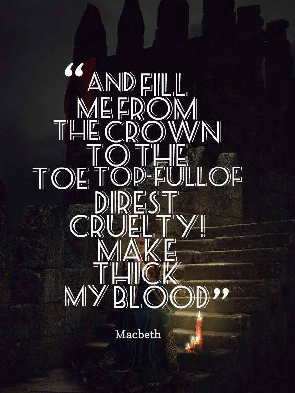 Macbeth Light Symbolism Centralroots