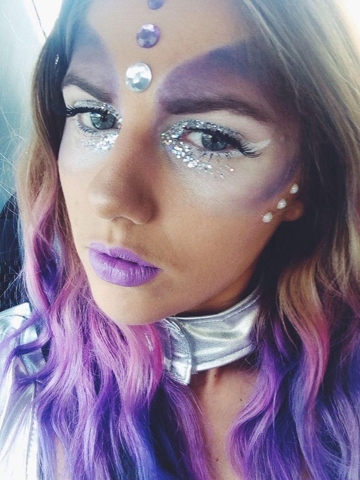 Space alien costume makeup Beauty Pinterest Aliens