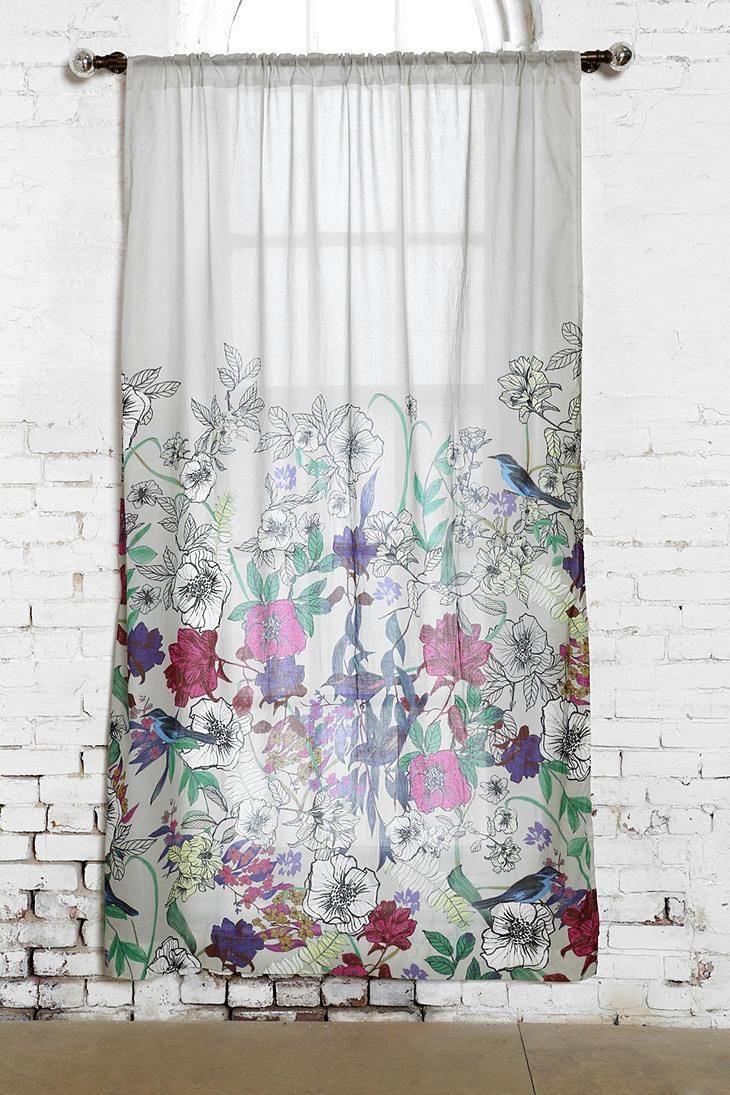 Plum Amp Bow Forest Critter Curtain Urbanoutfitters UOHome Pinterest Forests Showers And Bows