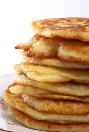 Cottage cheese pancakes, with 1 ingredient change, for