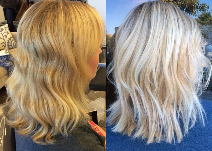 From A Brassy Blonde To A Modern Bright And Icy Highlight