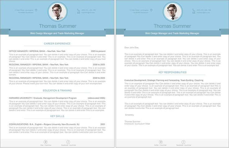 Sample Combination resumes - Free Resume Samples, Cover.