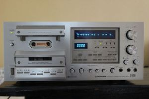 Pioneer CTF1250 Cassette Deck | Vintage Stereo Systems | Pinterest | Decks and Tape
