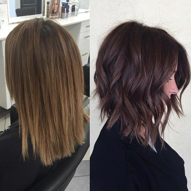 25 Best Ideas About Long Aline Bob On Pinterest Long