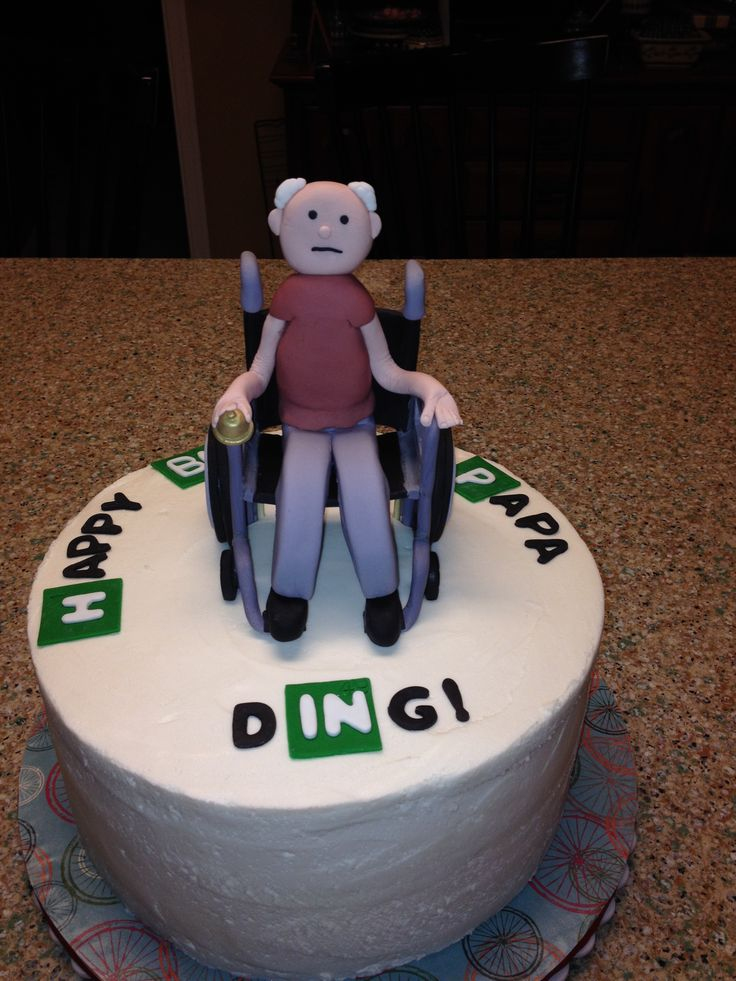 Breaking Bad Guy In Wheelchair All Made From Fondant
