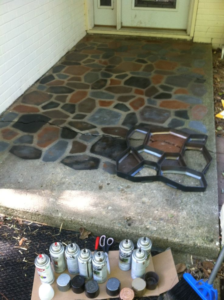 17 Best Ideas About Painting Cement On Pinterest