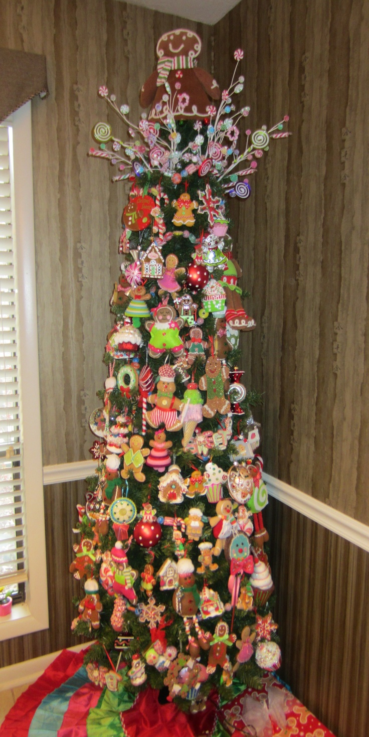 Gingerbread Christmas tree Christmas Pinterest Trees