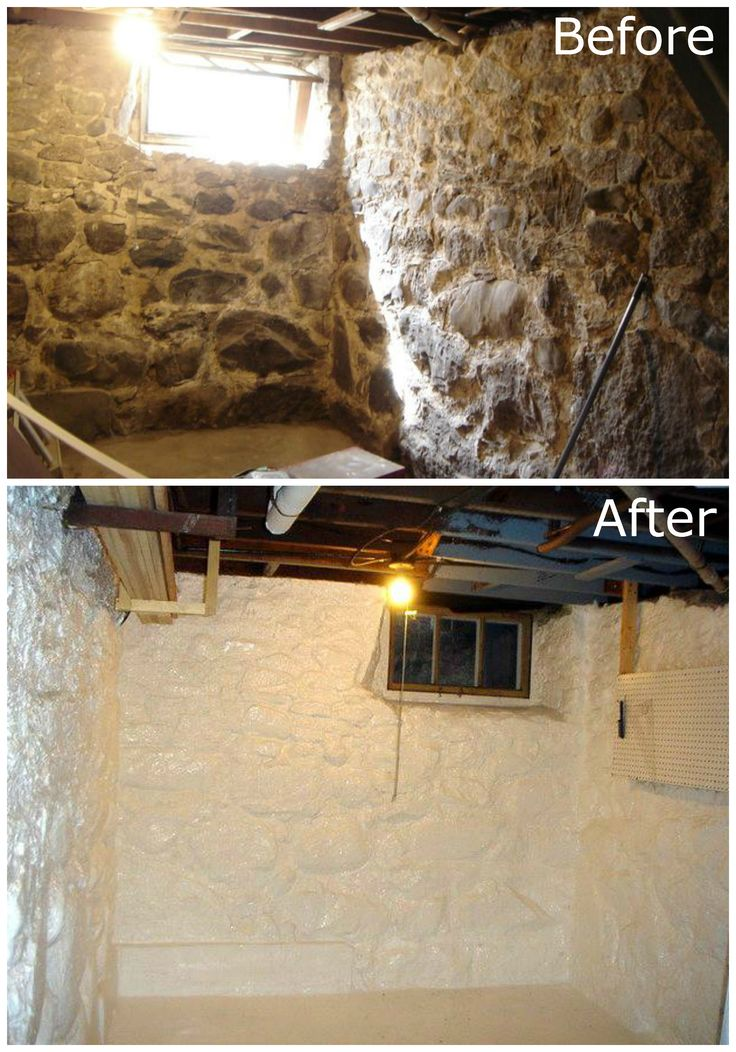 Stone Basement Waterproofing D.I.Y. Projects Pinterest