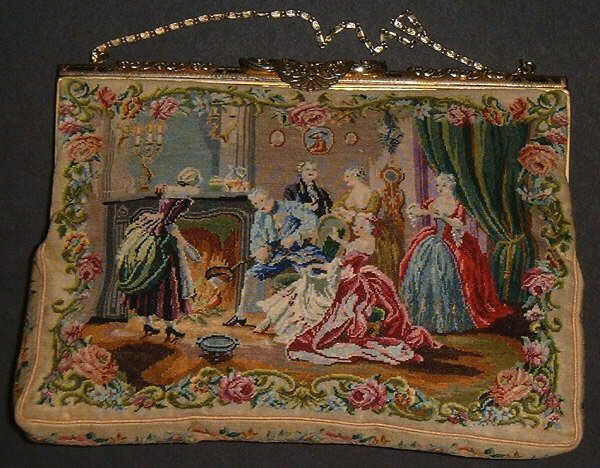 68 Best Images About Antique Needlepoint Purses On