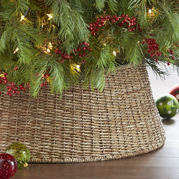 Stacked Rock Planters Crates, Tree skirts and Stocking hooks