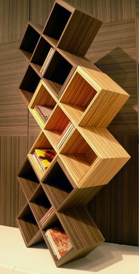 Modular Built Shelving