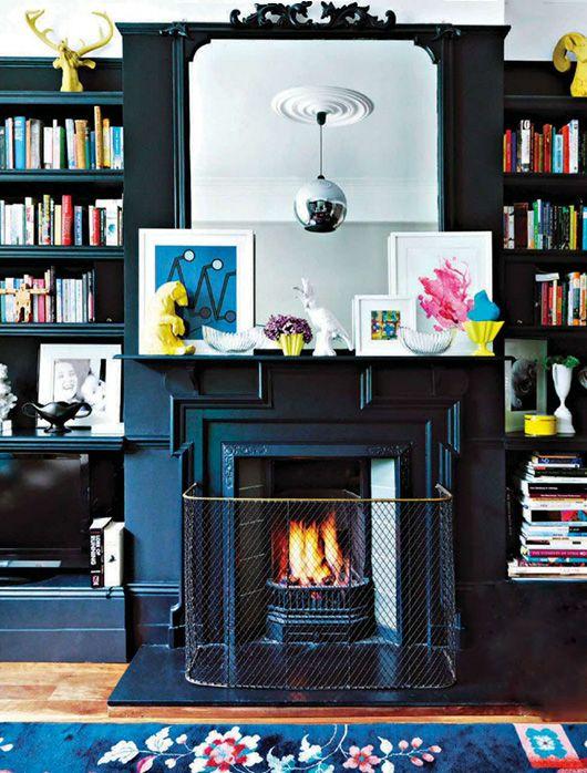 black mantel   elle decor south africa