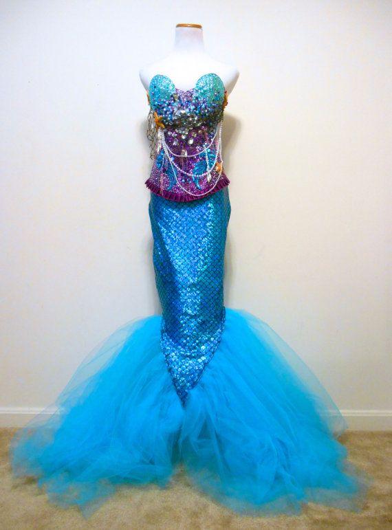 Mermaid Corset The Little Mermaid Adult By