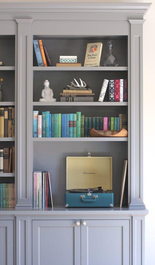 Rolling Ladder Bookshelf