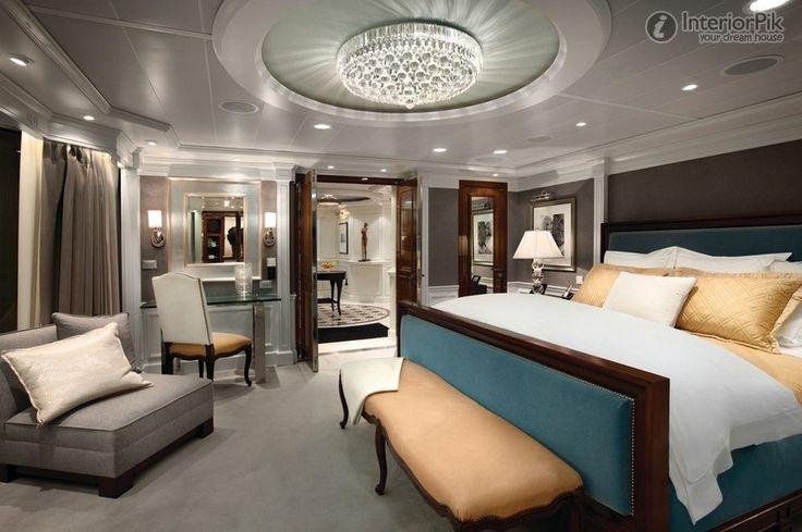 Stunning False Ceiling Master Bedroom Decorating Ideas