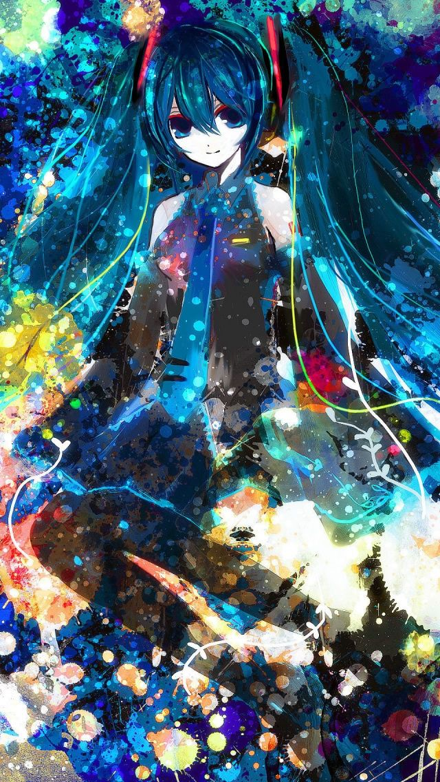 Miku 3 iPhone 5s Wallpaper Click the address to