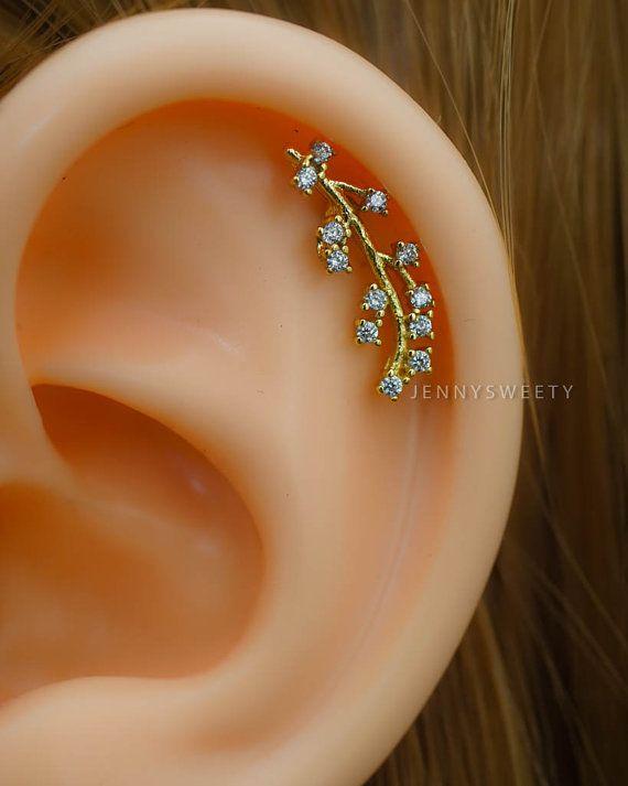 Cartilage Earring Cartilage Piercing16g Cartilage Stud