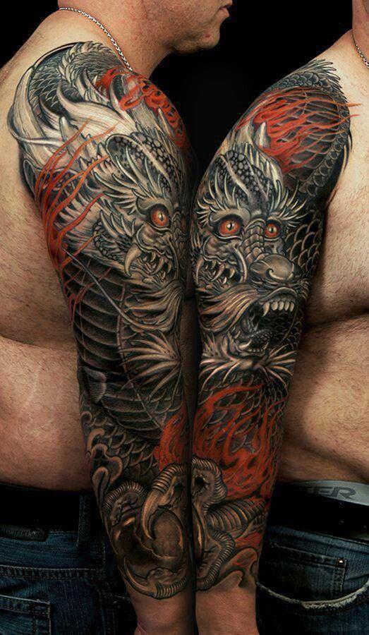 Dragon Japanese New School By Jess Yen Tattoo ideas