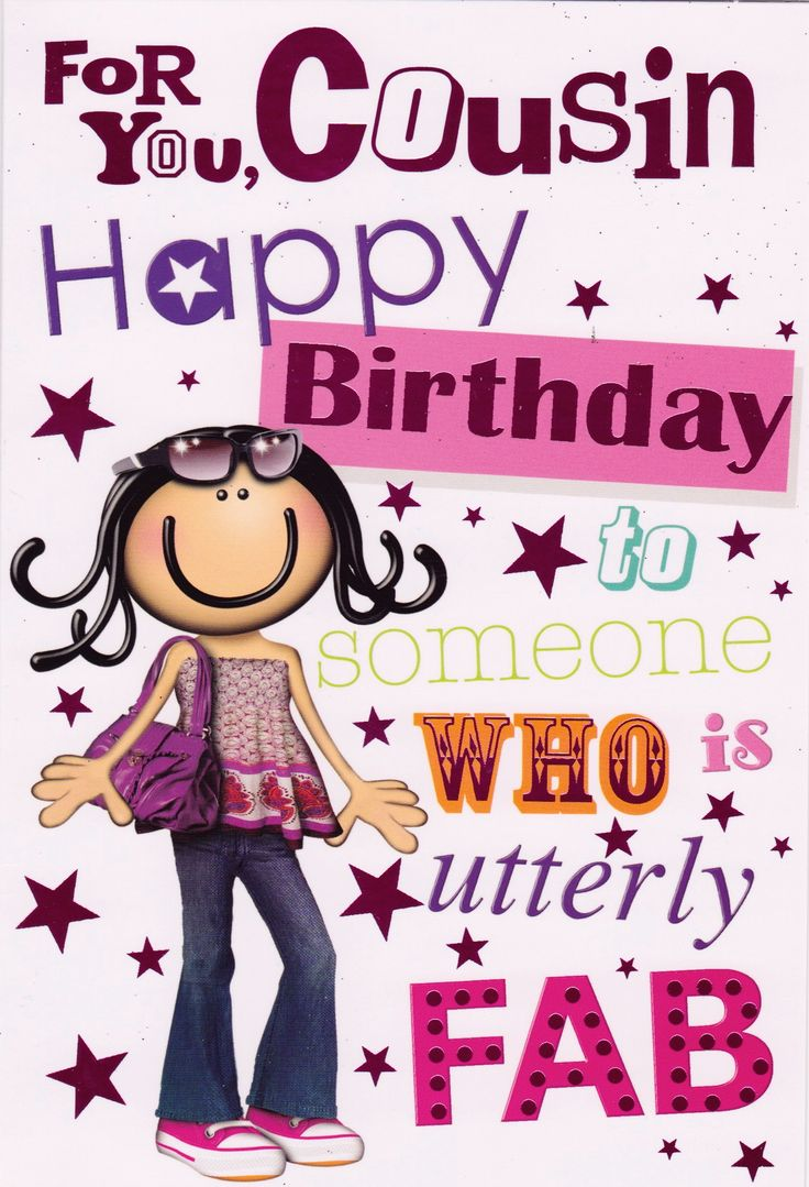Happy Birthday to my Fabulous Cousin! Have a blessed and