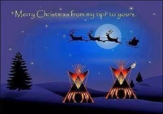 Native Christmas Native American And First Nations