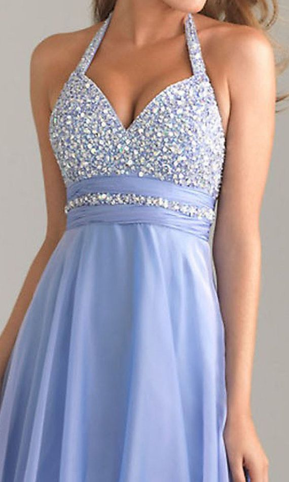 NEW fashion blue prom dress long prom dress cheap prom by VEIL8, too beautiful