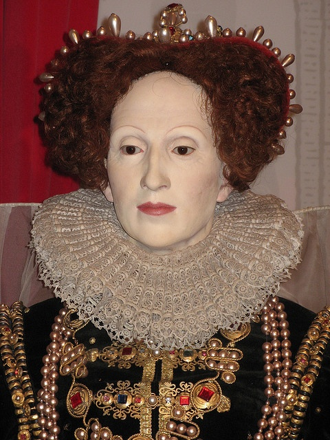 Queen Elizabeth I We're The Voice, Big Talent Tribute to